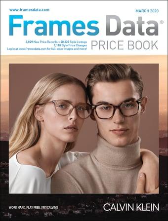 Calvin Klein Marchon Price Book