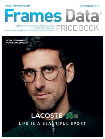 November 2019 price book