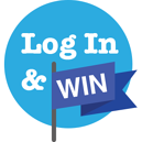 Log In and Win Logo (Indego)