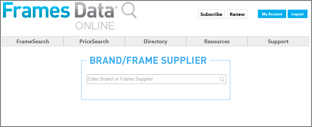Frames Data Directory Tool