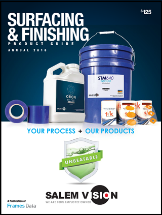 Surfacing and Finishing Product Guide