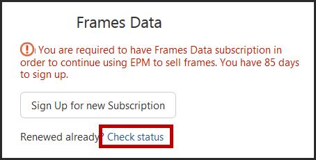 Integrations_-_Frames_Data_-_Check_Status