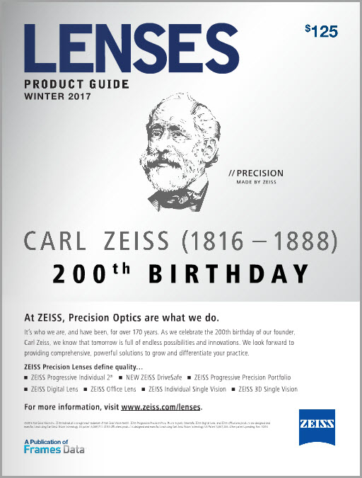200 Years of Carl Zeiss on the Winter Lenses Product Guide