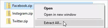 social toolkit zip files