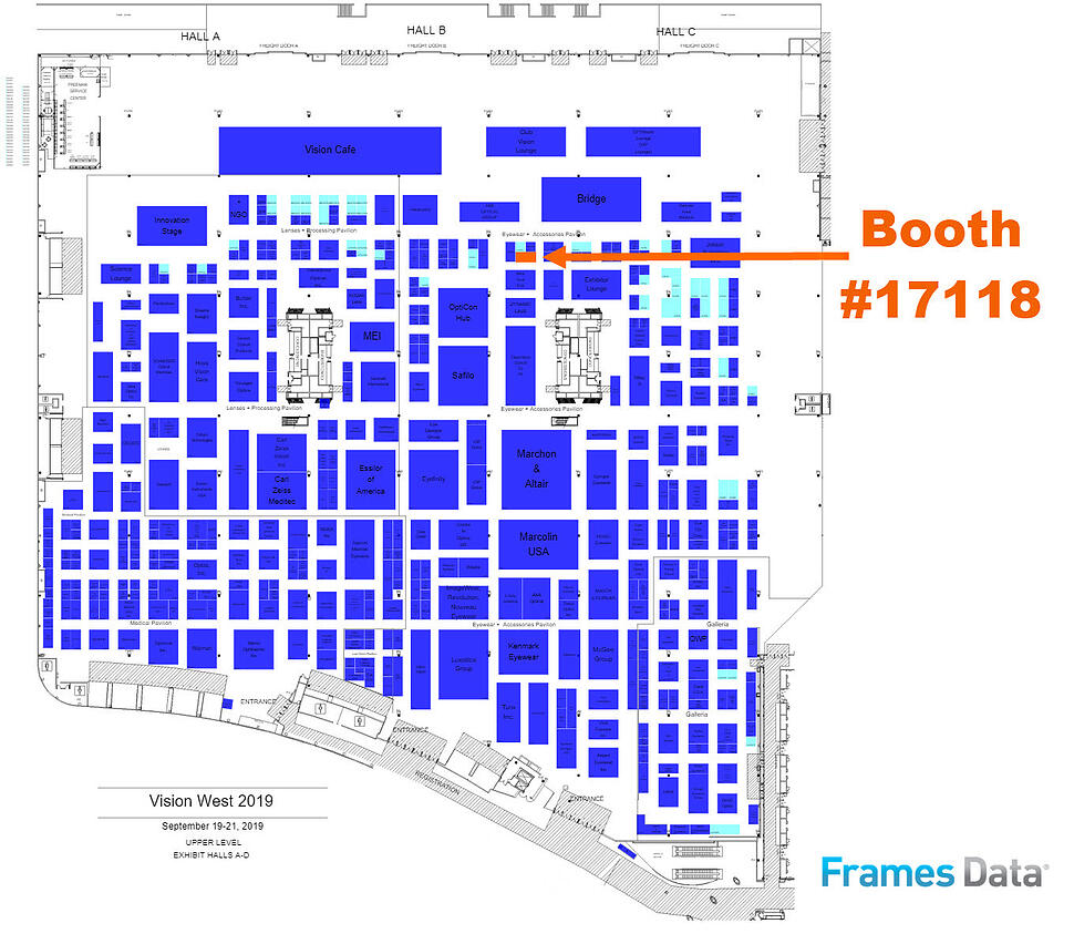 vew19 FD booth map
