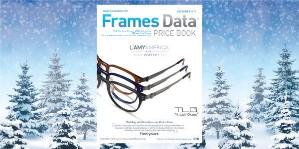 December 2019 Price Book features TLG from L'Amy America
