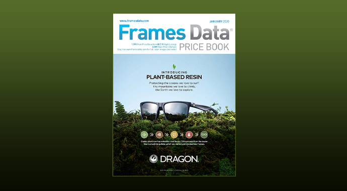 January Price Book features Dragon by Marchon