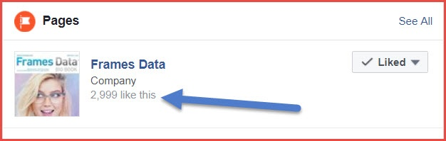 2,999 Facebook likes...Will you be number 3,000?