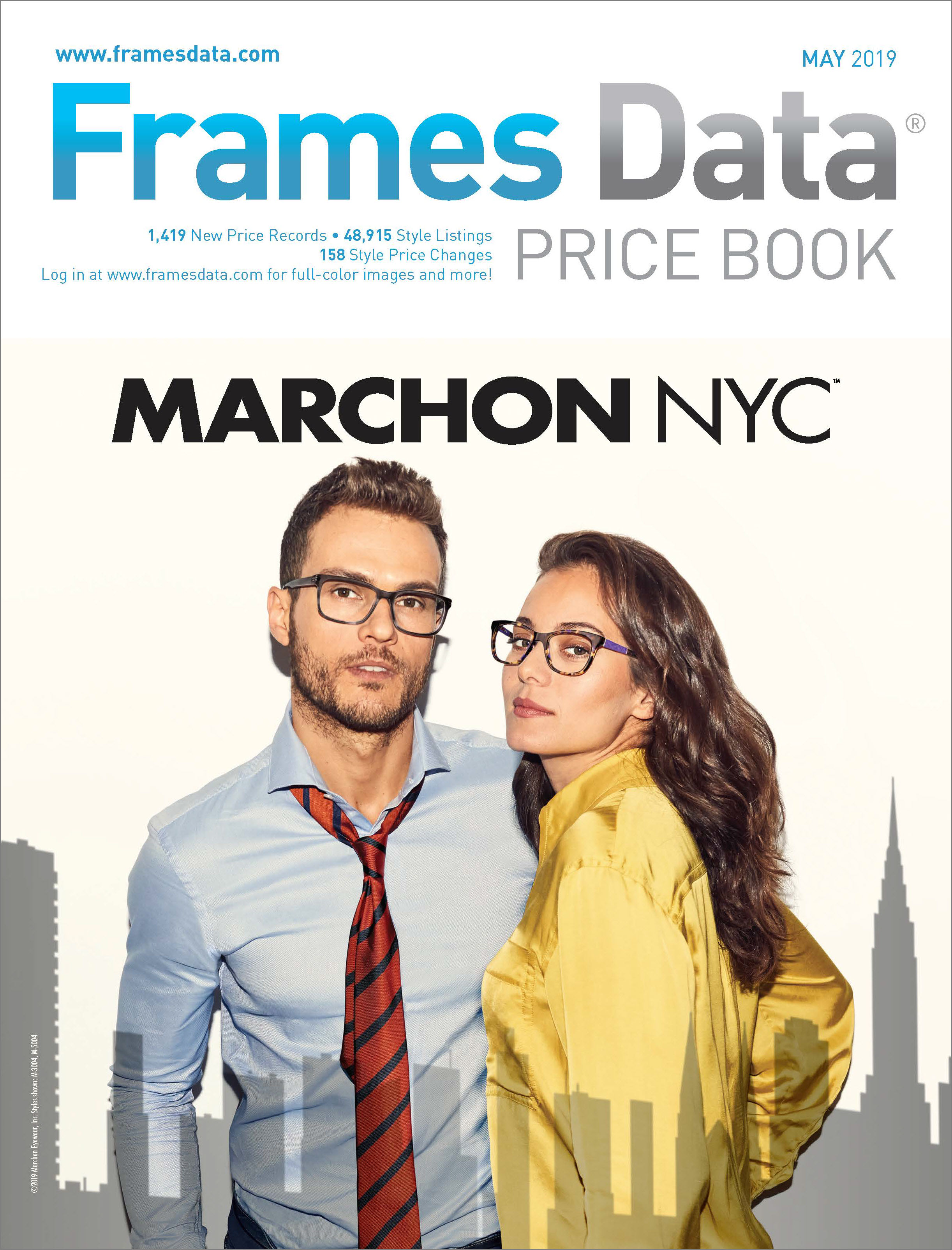 May Price Book features Marchon NYC by Marchon®
