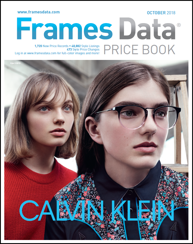 October Price Book Features Calvin Klein by Marchon