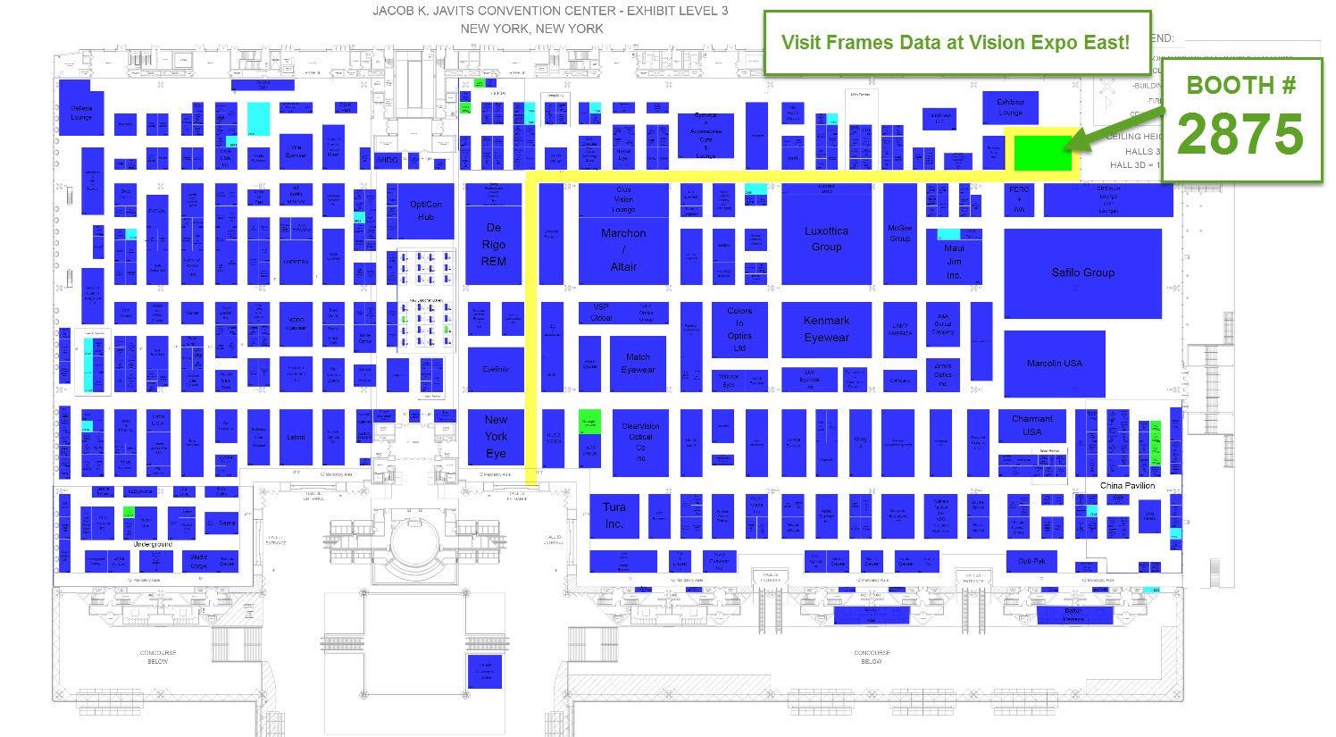 Visit Frames Data at Vision Expo Booth #2875