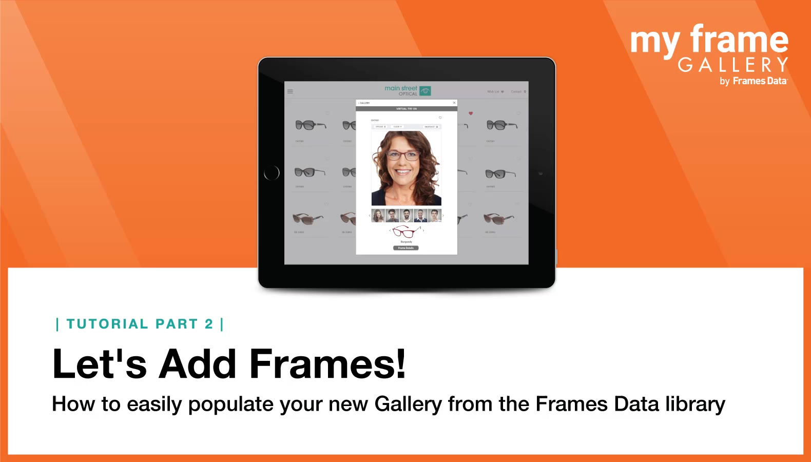 My Frame Gallery Set-Up Part 2:  Add Frames [VIDEO]