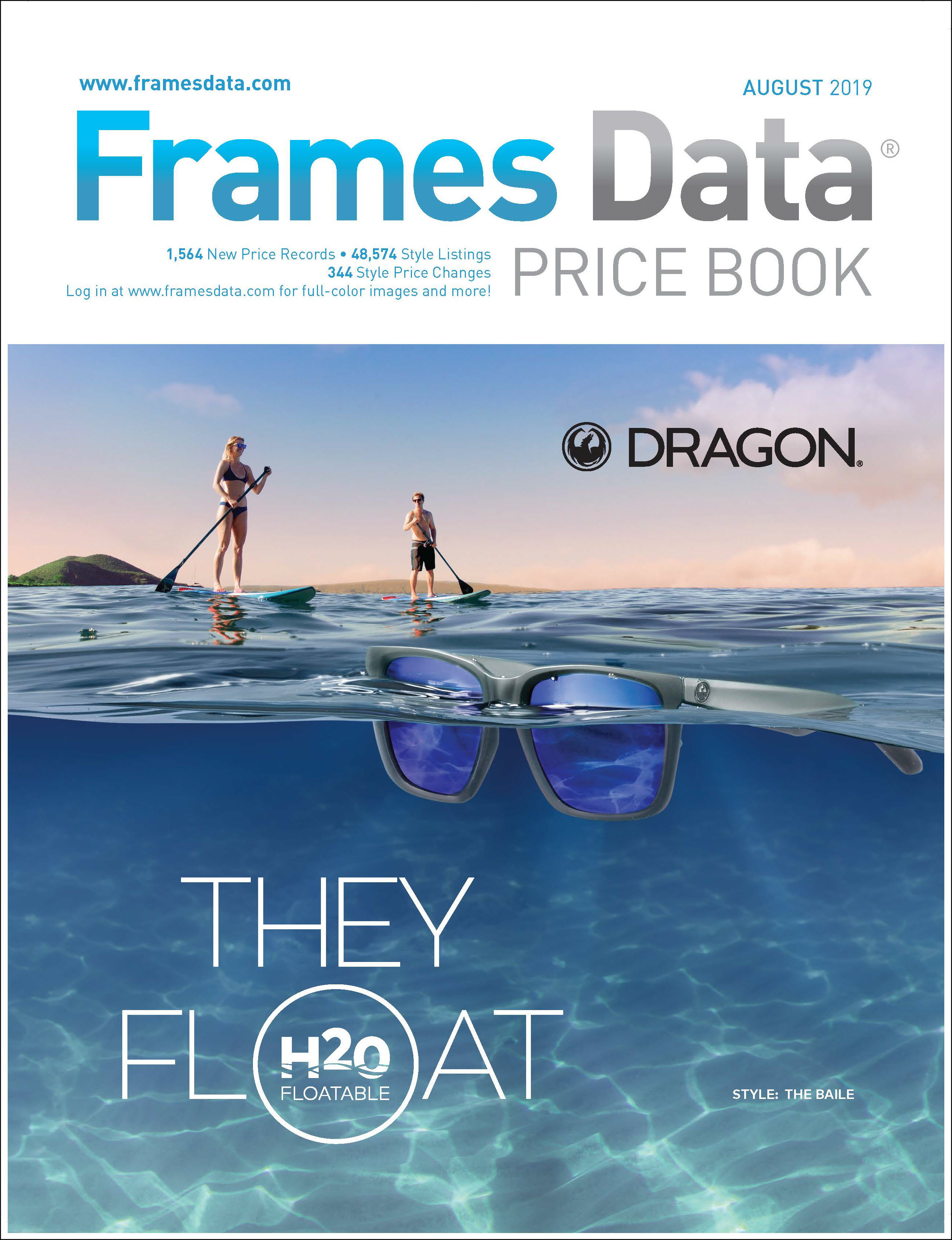 August Price Book features Dragon by Marchon®