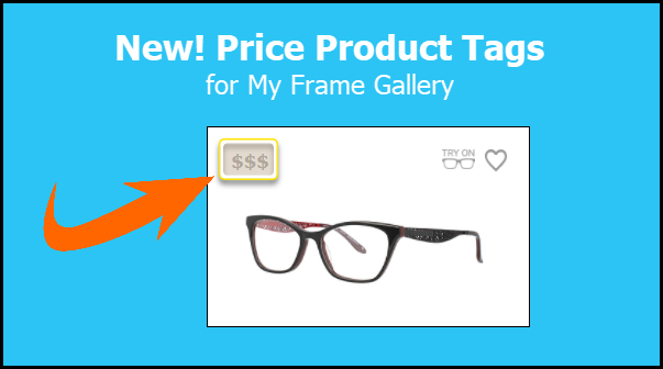 New! Price Product Tag on My Frame Gallery