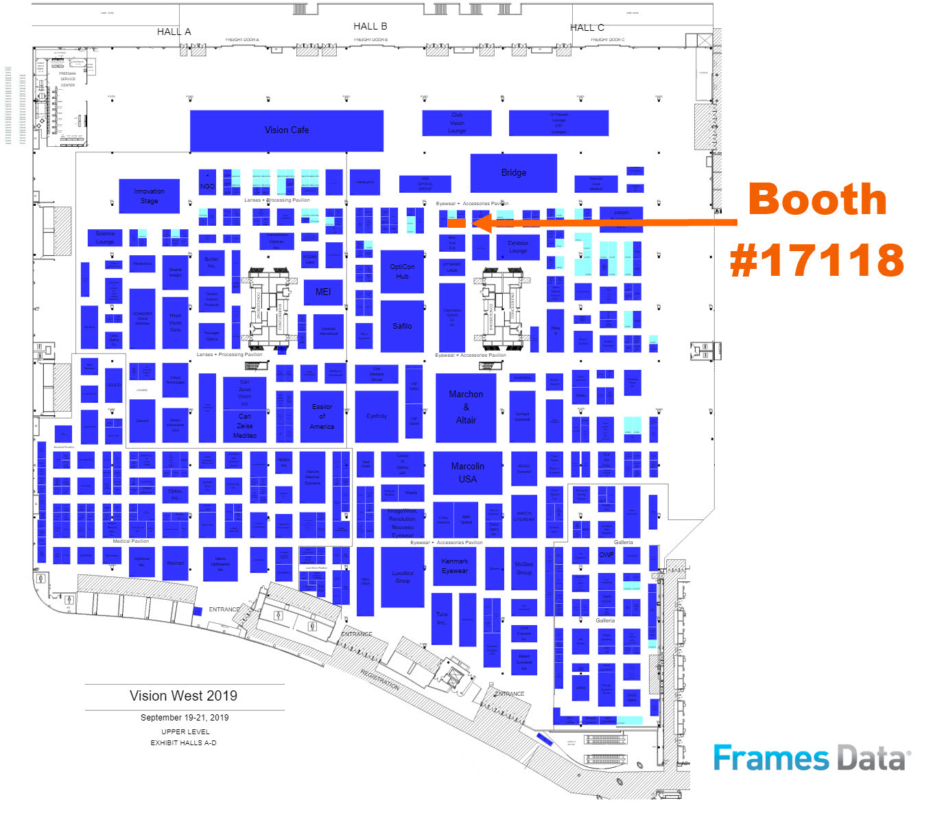 Vision Expo is here! Find Frames Data at Booth #17118